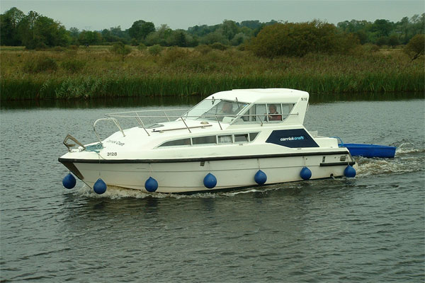 Cruisers for hire on the Shannon River - Carlow Class