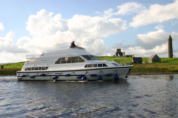 Cruisers for hire on the Shannon River - Waterford Class