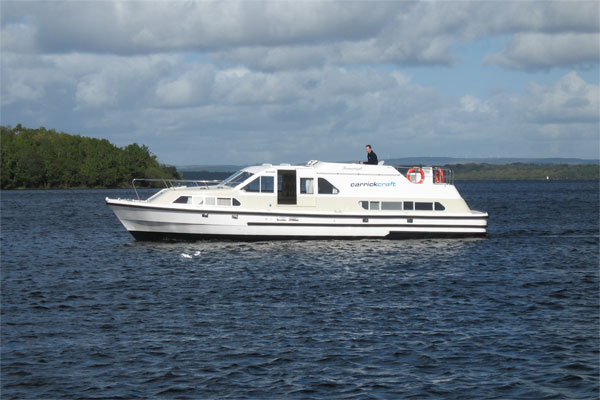 Cruisers for hire on the Shannon River - Fermanagh Class