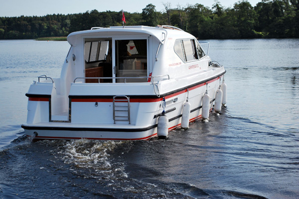 Cruisers for hire on the Shannon River - Inver Prince