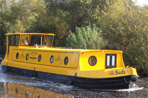 Cruisers for hire on the Shannon River - Sub Folk Class
