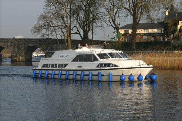 Cruisers for hire on the Shannon River - Roscommon Class