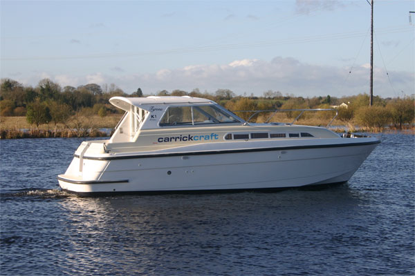 Cruisers for hire on the Shannon River - Tyrone Class