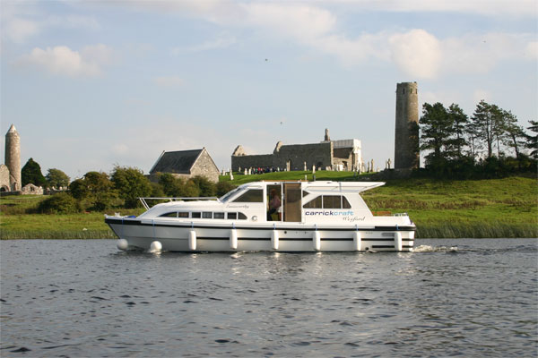 Cruisers for hire on the Shannon River - Wexford Class