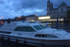 Silver Breeze moored at Athlone