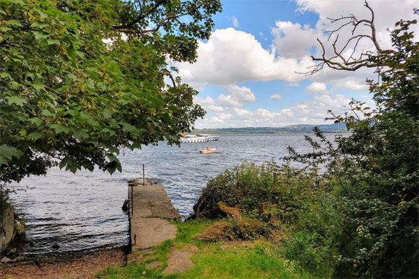 Lough Derg from the shore