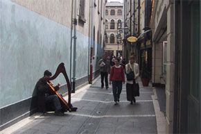 Athlone has some very unique buskers.