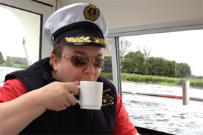 A cuppa for the captain.