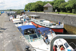 A busy lock on the Shannon