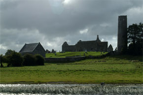 Passing Clonmacnoise