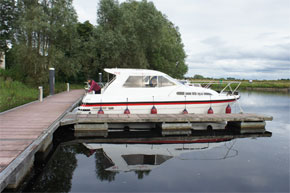 Moored in a Silver Stream