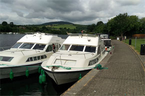 A brace of Shannon Stars moored for the night