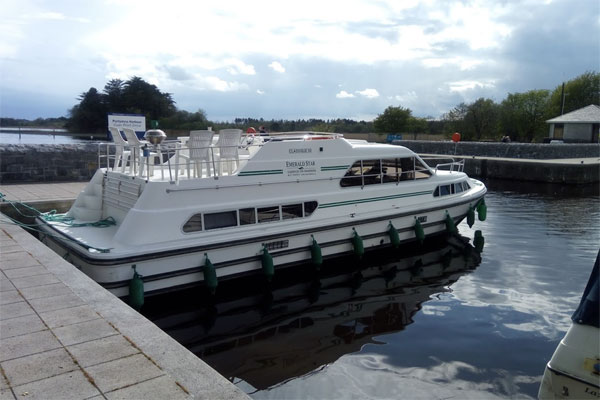 Moored at Portumna Harbour