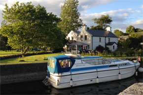 At a lock on the Shannon-Erne waterway