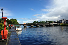 Rooskey Bridge on the Shannon