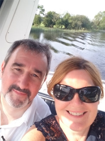 Brian and Yvonne Downey of Shannon River