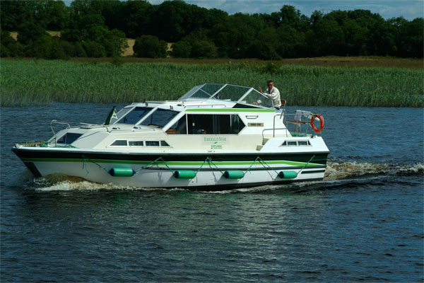 Shannon River Boats for Hire in Ireland - Lake Star