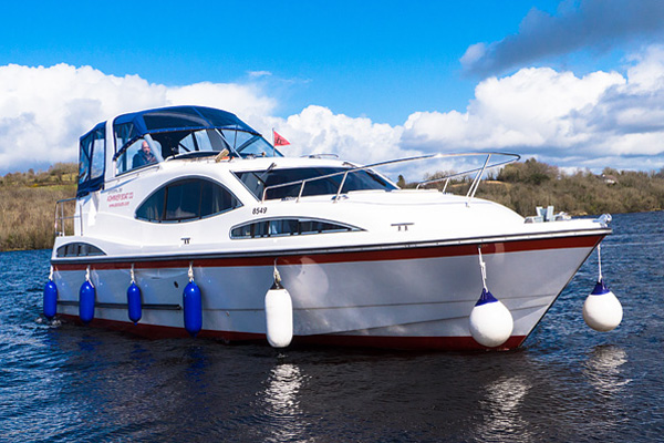 Shannon River Boats for Hire in Ireland - Inver Empress