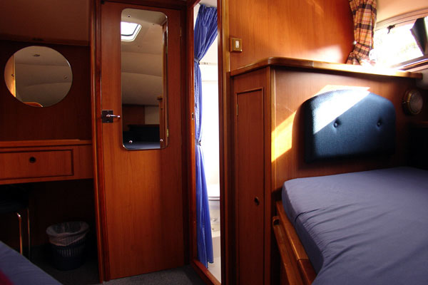 Sleeping Cabin on the Noble Chief Cruiser