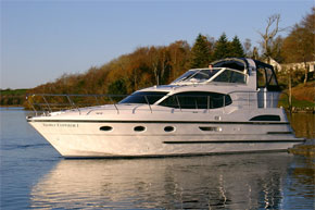 Shannon River Boats for Hire in Ireland - Noble Emperor