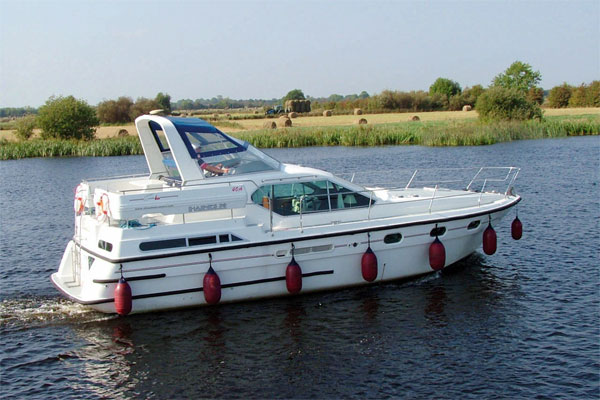 Shannon River Boats for Hire in Ireland - Silver Legend