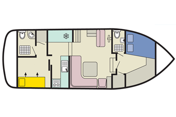 Layout of the Corvette B Cruiser