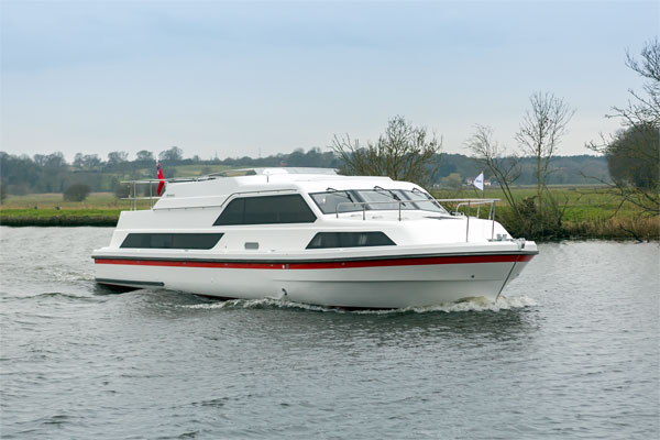 Shannon River Boats for Hire in Ireland - Inver Lady