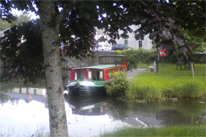 The Legend Class Barge - Shannon River Boating Holidays Ireland