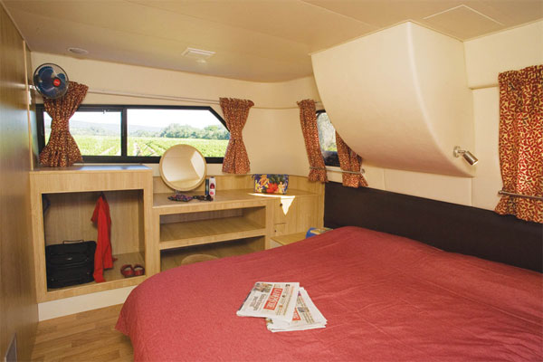 Sleeping Cabin on the Royal Mystique Cruiser.