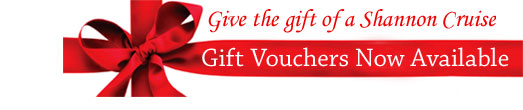 Shannon Boat Hire Crusing Gift Vouchers