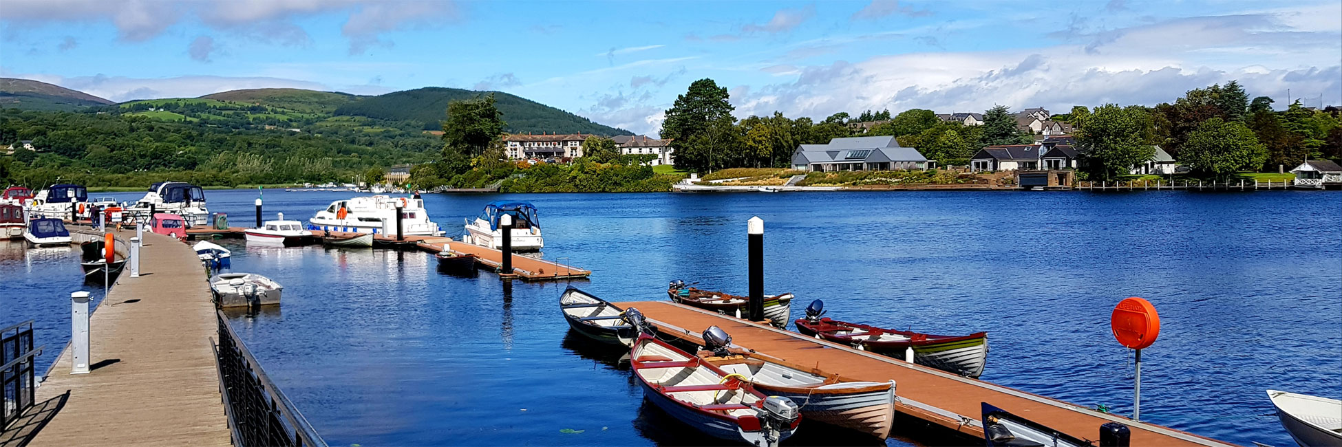 Years of experience in boat hire cruising Ireland