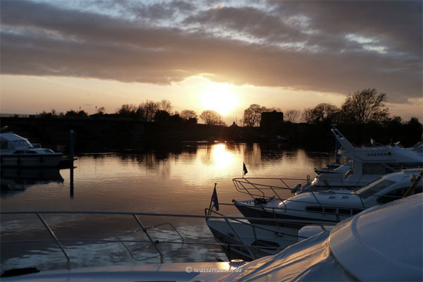 Shannon River Suggested Cruises - Banagher, One Week Heading North
