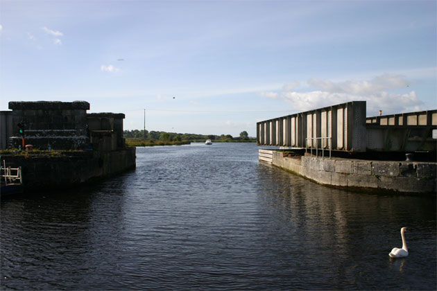 Shannon River Suggested Cruises - Portumna, One Week Heading North