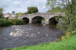 The Bridge to the River Erne at Belturbet